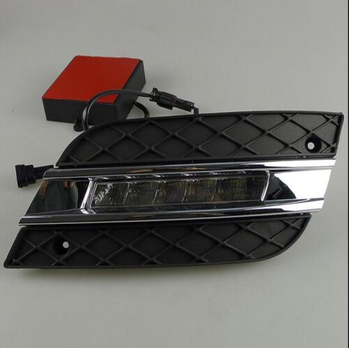 Pair LED DRL Daytime Running Light Lamp For Benz W164 GL320//350//450//550 06-09