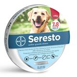 SERESTO 7-8 Month Flea/Tick Collar For LARGE Dog OVER 18 lbs - exp 01/2023