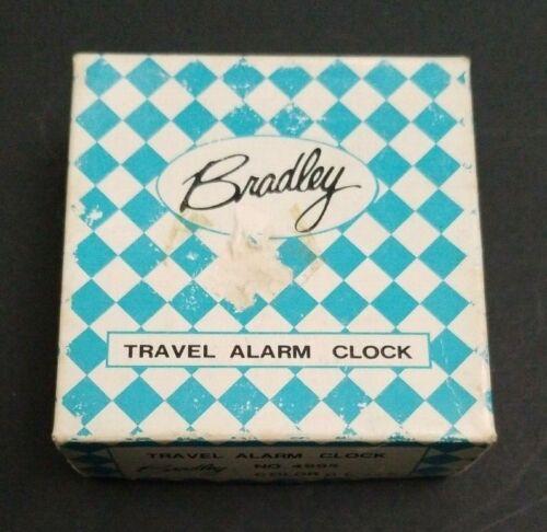 Vintage Bradley Travel Alarm Clock