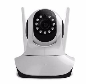 Weekly Promo!  20P HD ROBOT WIFI IP CAMERA PAN TILT DAY/NIGHT VISION 2 WAY AUDIO SD CARD SLOT MOTION DETECTION FREE APP