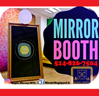 PHOTOBOOTH ✨MAGIC MIRROR✨cabine photo photomaton Miroir booth