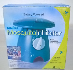MALiBU Battery Powered Mosquito Inhibitor Blocks Mosquitoes