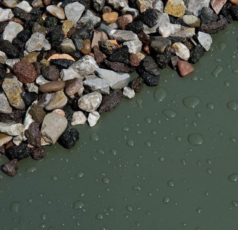SIKA Premium PVC Teichfolie 1mm schwarz  8 m breit  Länge auswählbar Teich