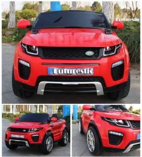 Range Rover Evoque 12V Electric Kids Ride On Cars w Leather Seat Bass Hill Bankstown Area Preview