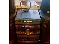 SONY HIFI / STEREO SYSTEM MHC-RX90