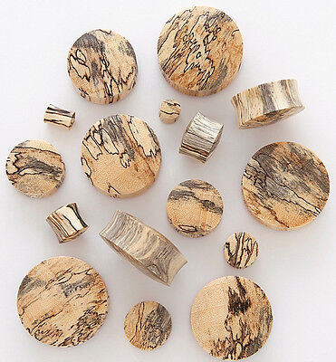 - PAIR Tamarind Wood Plugs Gauges - select size from 8g all the way up to 30mm