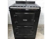 AGA MODULE ALL ELECTRIC RANGE COOKER IN PEWTER