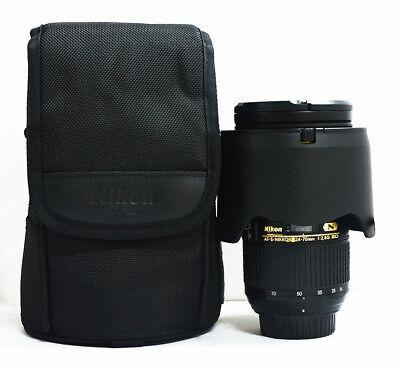 Nikon NIKKOR AF-S 24-70mm F/2.8 ED Lens + pouch
