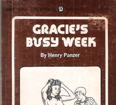 HENRY PANZER (DEAN KOONTZ) - GRACIE'S BUSY WEEK aka 'SHARE THE WARM FLESH' 1974