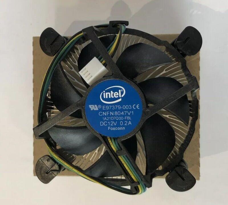 New Intel CPU Fan Heatsink E97379 I3 I5 I7 Socket LGA 1150 1151 1156
