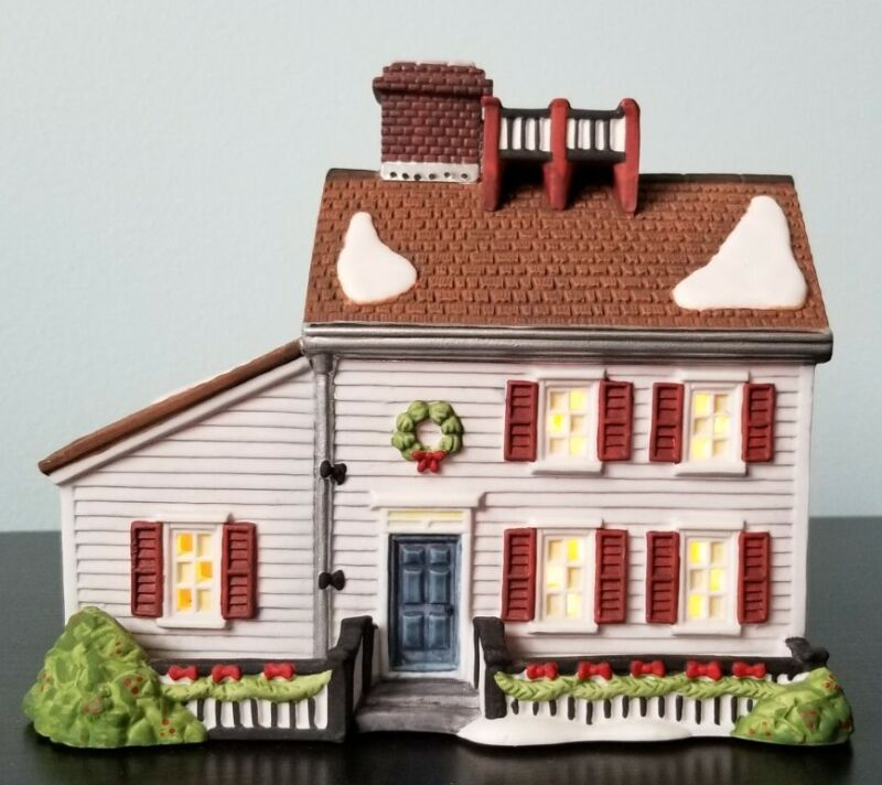 Dept 56 New England Village Series Jeremiah Brewster House 1995 56570