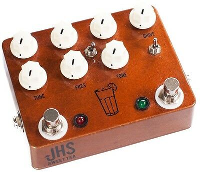 JHS Pedals Sweet Tea - Overdrive/Distortion Effects Pedal