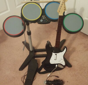 Rockband / Guitar Hero Hardware Kit - XBOX 360