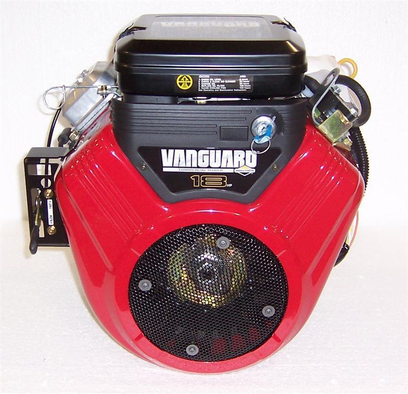 """Briggs & Stratton Horizontal 18 HP Vanguard Engine 1"""" x 2-29/32""""  #356447-3079"""