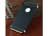 Apple Iphone 6 6S Case,Ultra Thin,Hard 360 Degree Protection,New Black and Gold