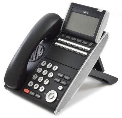 Nec Dt300 Dtl-12d-1 12 Button Display Phone Black 680002 Refurbished