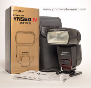 YN560IV flash / YN560TX trigger for Canon Nikon Pentax Fuji Sony