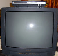 "27"" Sanyo Color TV W/DVD Swap For Laptop"