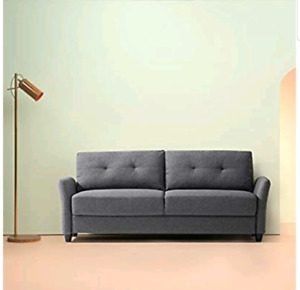 Zinus Contemporary Upholstered 78.4in Sofa / Living Room Couch,