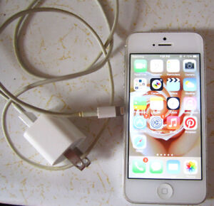 iphone 5 with charger