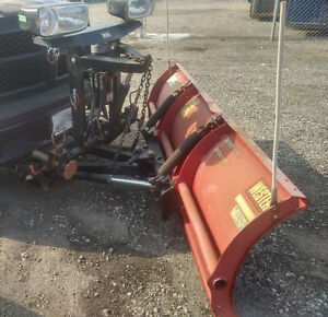 Lightly Used Western Midweight 7.6' Snow Plow Complete Kit