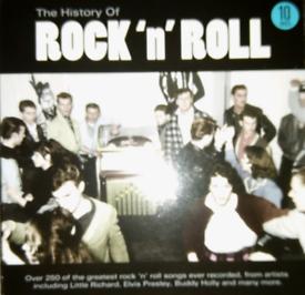 The History Of Rock 'n' Roll - 10 CD Box Set