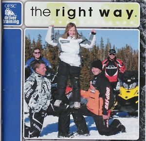Snowmobile Driver Training Courses