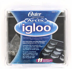 Oster Professional 76004-011 Artic Igloo Clipper Blade Storage S