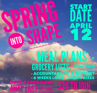 Online Weight Loss Challenge starts in April