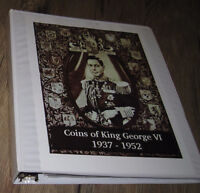Canadian Coin Collection - 1937-1952 King George VI Coins