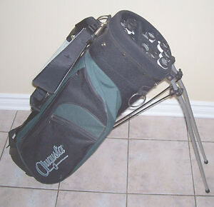Augusta Canvas Golf Stand Bag with Izzo Harness Strap