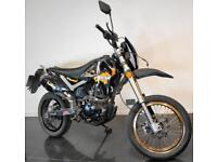 2014 63 PULSE XF 125 GY-2B ADRENALINE BLACK PROJECT TRADE SALE SUPERMOTO 7K CATN