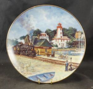 "KINCARDINE PLATE ""Guiding Light"" by Ted Xaras Limited Edition"
