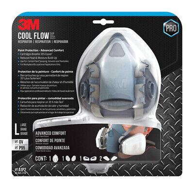 3M 7513PA1 7513 PRO Cool Flow Respirator A1P2 SIZE LARGE