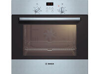 Bosch Intergrated Electric Oven, Brushed Steel