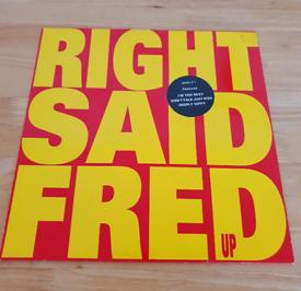 Right Said Fred Up Original Vinyl L.P