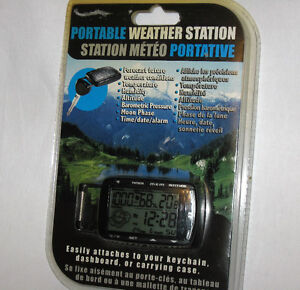 Portable Weather Station, (NEW, Sealed)