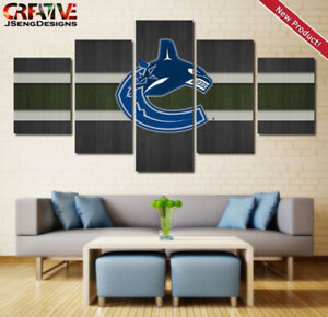 Vancouver Canucks Wall Art Home Decor Hockey Poster.
