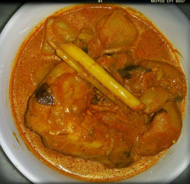 Curry Dish - Chicken Curry