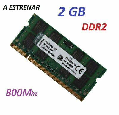 2GB MEMORIA RAM PORTATIL ¡ NUEVA ! PC2 6400 DDR2 800Hz 2RX8...