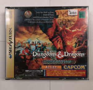 Sega Saturn Dungeons and Dragons Collection T-1224G