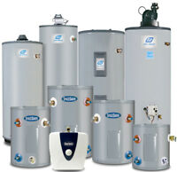 Hot Water Tanks  40, 50, 60 , 75, gallons
