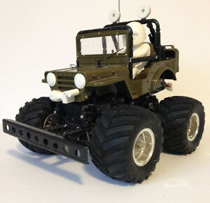 REDUCED Tamiya RC Wild Willy II Jeep 1/10th scale St. John's Newfoundland image 1