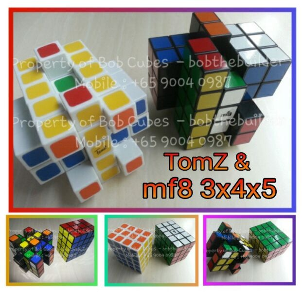 - TomZ & mf8 3x4x5 for sale ! Brand New cube !