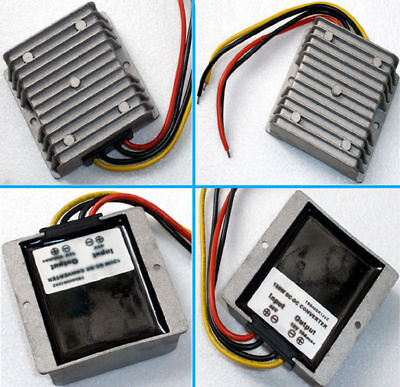 Dc Voltage Stabilizer Power Supply Regulator Converter Waterproof For Ic Gps Led