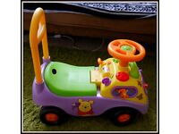 Winnie The Booh Baby Walker/ Car Toy- GOOD CONDITION!
