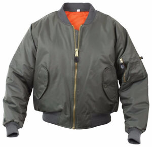 Rothco MA-1 Flight Jacket. New with tags!LAST ONE! SIZE MED.