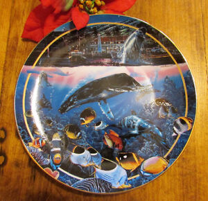 "1996 ""Voyage of the Ho'okulea"" by Lassen, Collector's Plate #5 Kitchener / Waterloo Kitchener Area image 1"