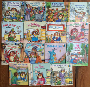 LITTLE CRITTER books by Mercer Mayer $3 each or all 15 for $30