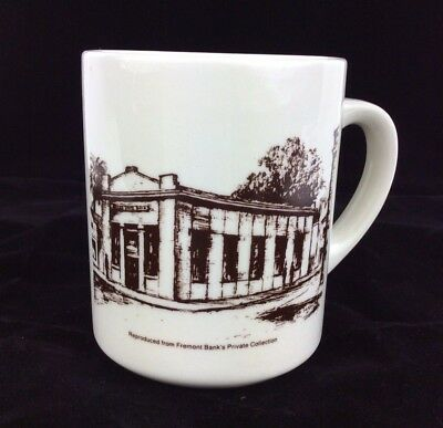 Niles State Bank Fremont Banks Private Collection  California  Coffee Mug Cup